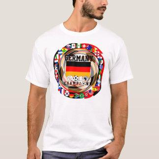 Deutschland verficht Weltmeisterschaft-T - Shirt