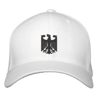 "Deutschland""Wappen"" gestickte Kappe Bestickte Baseballmütze"