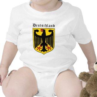 Deutschland-Wappen | Babybody (weiß)