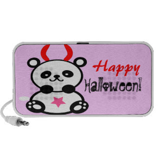 ♫♥Devilish niedliches Baby-Panda Gekritzel Speaker