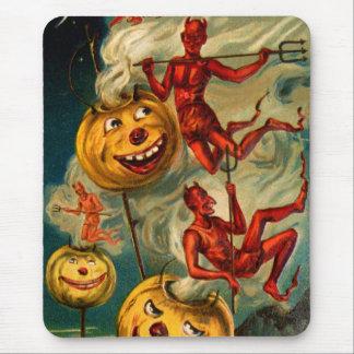Devils Lighten Up Jack O'Lanterns Mousepad