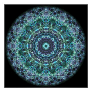 devine Mandala Posterdrucke