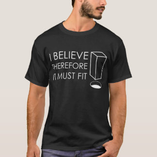 DevoutNone - ich glaube T-Shirt