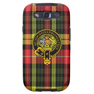 Dewar-schottisches Wappen und Tartan S3 rufen Fall