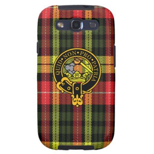Dewar-schottisches Wappen und Tartan S3 rufen Fall Galaxy SIII Hüllen