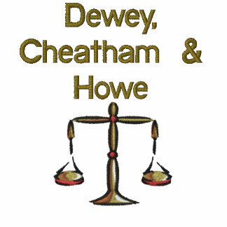 Dewey, Cheatham u. Howe Besticktes Shirt