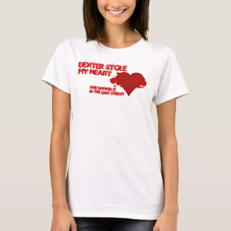 Dexter stahl mein Herz T-Shirt