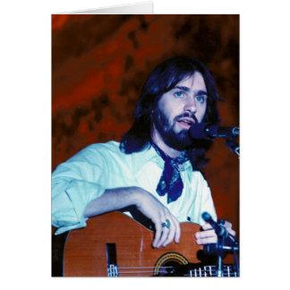 DF im Konzert Notecard 1976 Karte