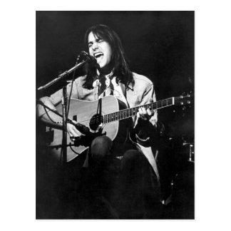 DF in Konzert-Postkarte 1974 Postkarte
