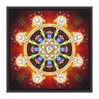 Dharma - Rad Leinwanddruck