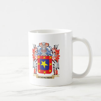 Di-Domenico Wappen - Familienwappen Kaffeetasse