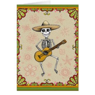 Dia de Los Muertos Cards Karte