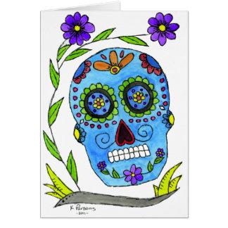 Día de Los Muertos Karte