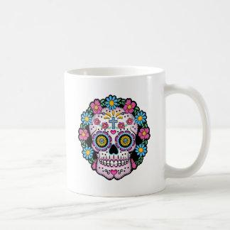 Dia de Los Muertos Skull Kaffeetasse