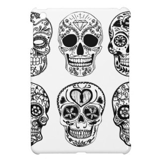 Dia de Los Muertos Skulls (Tag der Toten) iPad Mini Hülle