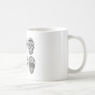 Dia de Los Muertos Skulls (Tag der Toten) Kaffeetasse