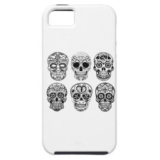 Dia de Los Muertos Skulls (Tag der Toten) Tough iPhone 5 Hülle