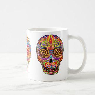 Dia de Los Muertos/Tag der Toten Kaffeetasse