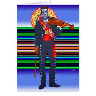Día de Muertos/Tag der Toten Karte