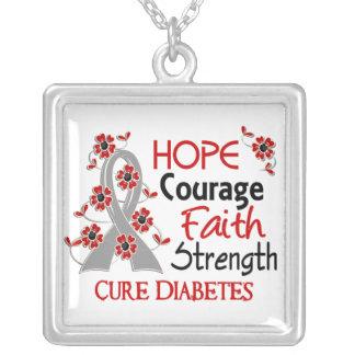 Diabetes der Hoffnungs-Mut-Glauben-Stärken-3 Schmuck