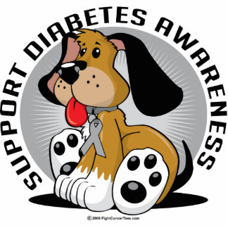 Diabetes-Hund Photofigur