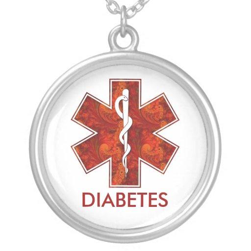 Diabetes-medizinische hängende Halskette: Kundenge