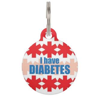 Diabetes-medizinischer Alarm Identifikations-Umbau Tiernamensmarke