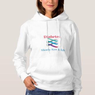 Diabetes… retten einem Leben mit Kapuze Sweatshirt