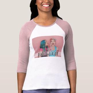Diablo und T-Stück Le Keux Raglan T-Shirt