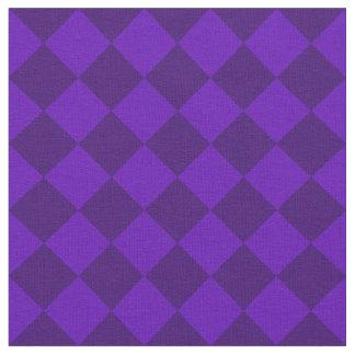 Diag kariertes großes - violettes und dunkles stoff