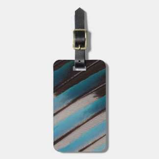 Diagonale Blau-Aufgeblähter Rollen-Feder-Entwurf Kofferanhänger