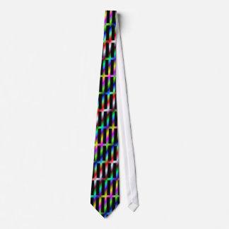 Diagonale Farbgitter-Krawatte Krawatte