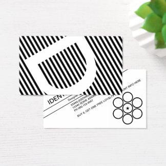Diagonale macht Loyalität blind Visitenkarte
