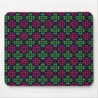 Diagonale Mosaik-Fliesen-Mausunterlage 2 Mousepad