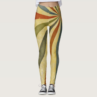 Diagonale Streifen durch Julie Everhart Leggings