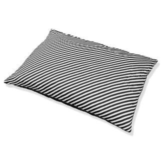 Diagonale Streifen Haustierbett