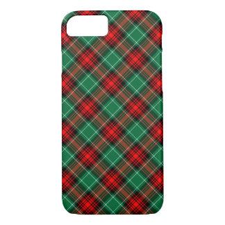Diagonaler karierter Fall iPhone7 des roten grünen iPhone 8/7 Hülle