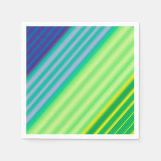 Diagonaler Kontrast-Papierservietten Papierserviette