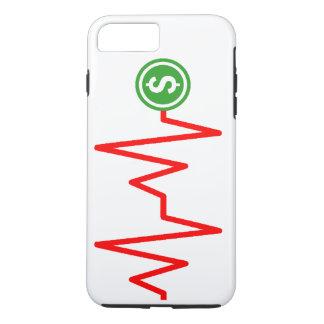 Diagramm-Dollar-Zeichen auf lager iPhone 8 Plus/7 Plus Hülle