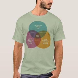 Diagramm Jesuss Venn T-Shirt