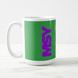Diagramm-Tasse Armstrongs New Orleans Kaffeetasse
