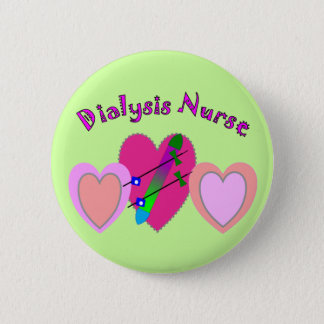 Dialysekrankenschwester-Geschenke Runder Button 5,1 Cm