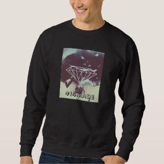 Diamant-Abbruch Crewneck Sweatshirt