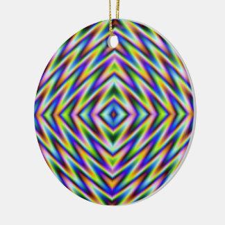 Diamant-Augen-Verzierung Keramik Ornament