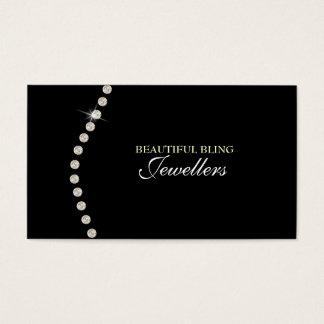Diamant Bling Juwel-Schmuck-Speicher-Visitenkarte Visitenkarte