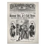 Diamant-Dick-Bibliotheks-Nr. 175 Postkarte
