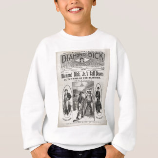 Diamant-Dick-Bibliotheks-Nr. 175 Sweatshirt