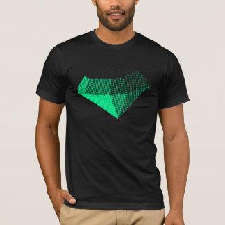 Diamant-Halbtonbild (hellgrün) T-Shirt