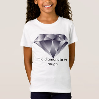 Diamant im rauen T - Shirt