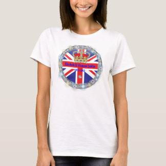 Diamant-Jubiläum-Andenken-T - Shirt